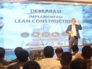 Sosialisasi dan Deklarasi Lean Construction PT. PP (Persero) Tbk