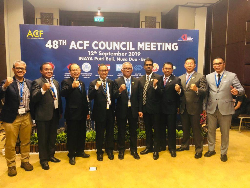 Ir. Budi Utomo pendiri Lean Construction Institute Indonesia (LCII) hadir di ACF-AKI Bali