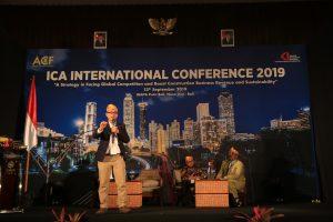 Ir. Budi Utomo menjadi pembicara di ACF-AKI Bali